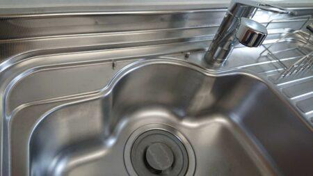 キッチン(シンク)の清掃&水回りコーティングを東京都町田市南つくし野にて行いました。【施工事例19】