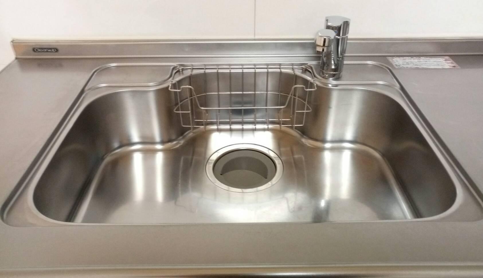 キッチン(シンク)の清掃&水回りコーティングを神奈川県横浜市磯子区にて行いました。【施工事例4】