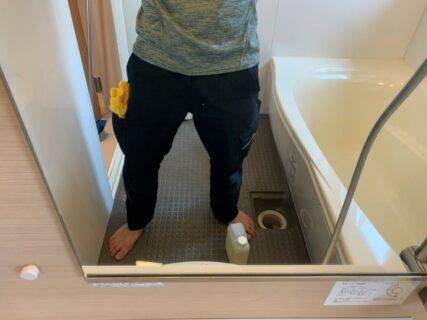 お風呂(浴室)の清掃&水回りコーティングを横浜市瀬谷区三ツ境にて行いました。【施工事例33】