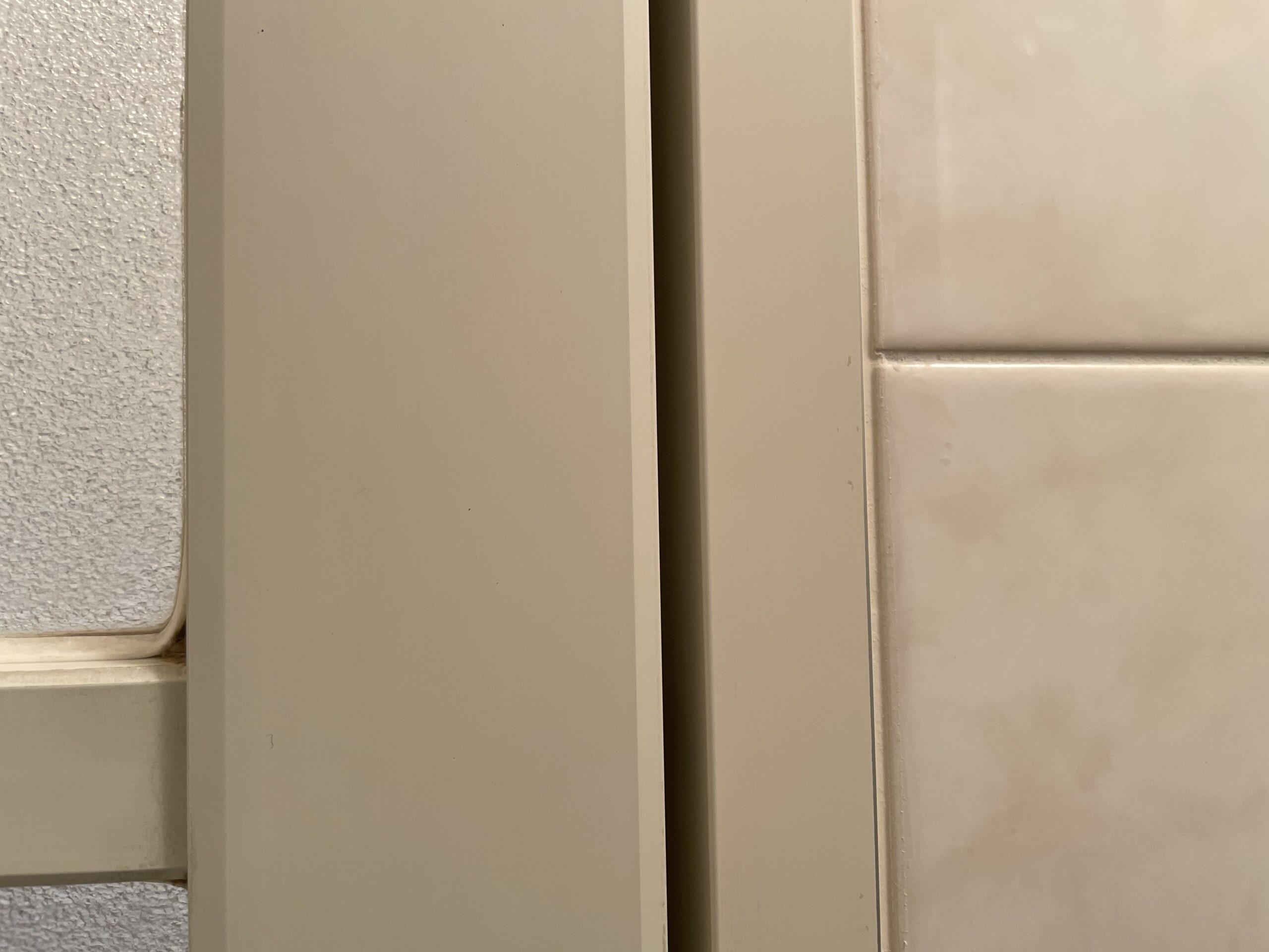 お風呂(浴室)の清掃&ガラスコーティングを東京都大田区東六郷で行いました。【施工事例60】